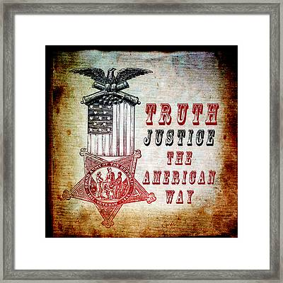 The American Way Framed Print