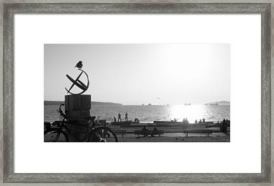 The Ancient Observer Framed Print