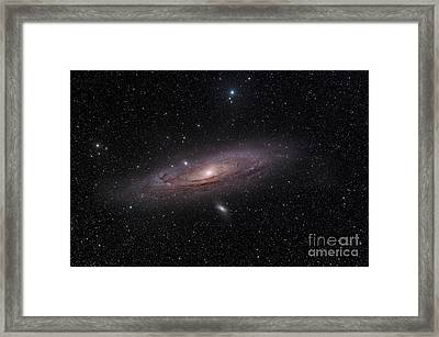 The Andromeda Galaxy Framed Print by John Davis