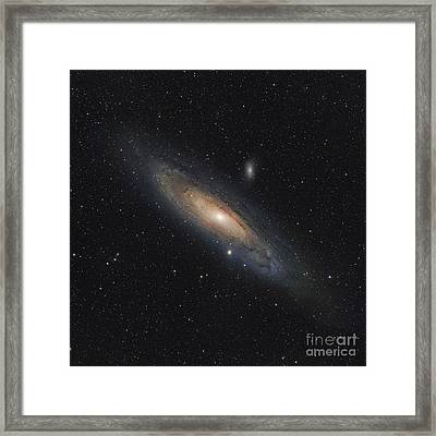 The Andromeda Galaxy Framed Print by Rolf Geissinger