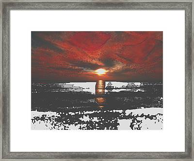 The Angels Are Back I Framed Print