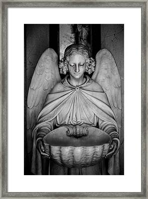 The Angels Burden Framed Print by Anthony Citro