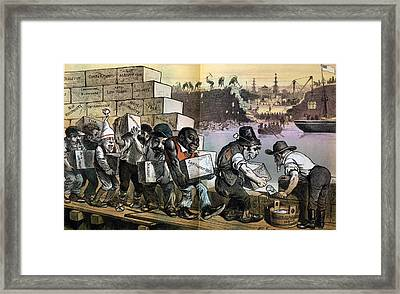 The Anti-chinese Wall--the American Framed Print by Everett