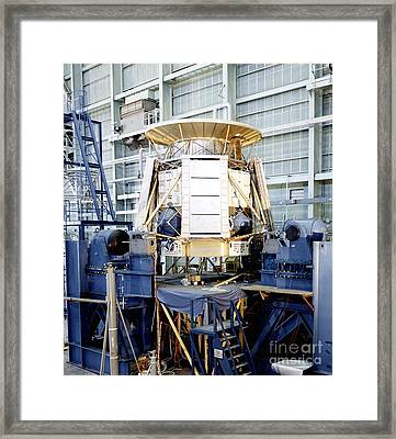 The Apollo Telescope Mount Undergoing Framed Print by Stocktrek Images