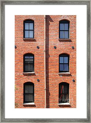 The Argonaut Hotel Back Side At Fishermans Wharf . San Francisco California . 7d14184 Framed Print by Wingsdomain Art and Photography