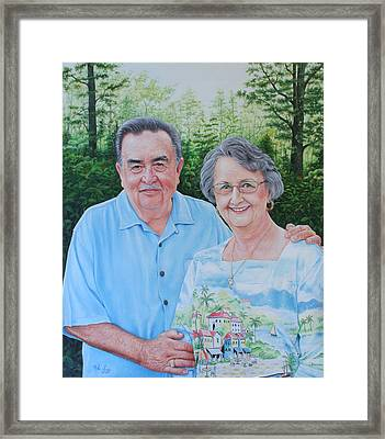The Armstrongs Framed Print by Mike Ivey