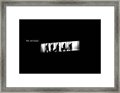 The Arrival Framed Print by Xoanxo Cespon