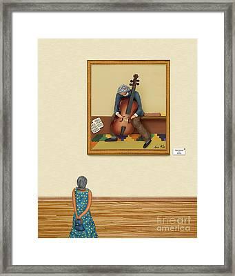 The Art Critic 2 Framed Print