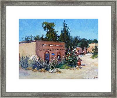 The Art Gallery Framed Print