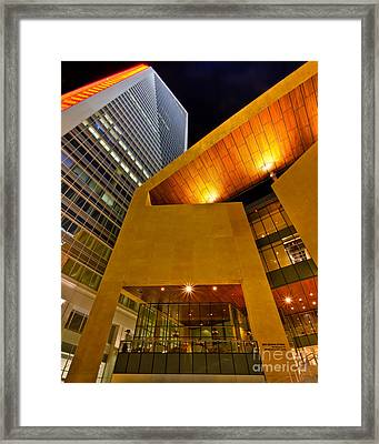 The Art Of Business Framed Print by Brian Tye