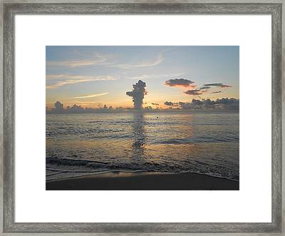 The Art Of Living Framed Print by Sheila Silverstein