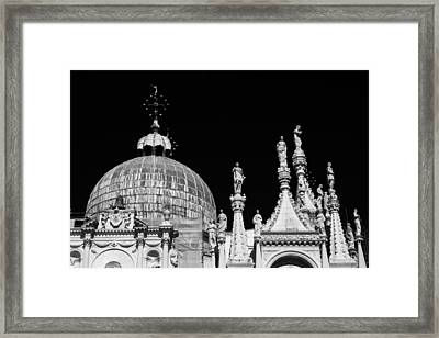 The Art Of Venice Framed Print by Justin and Ambyr Henderson