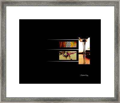 The Art Of Wine 2 Framed Print by Xoanxo Cespon