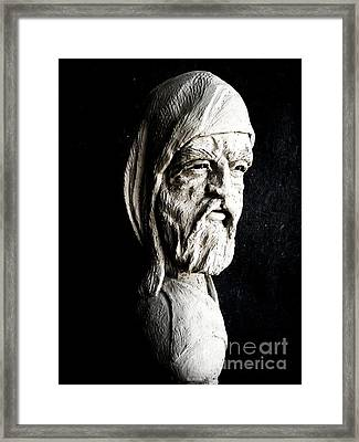 The Artist Framed Print by Wayne Niemi