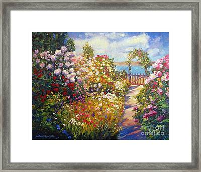 The Artists Dream Fantasy Framed Print by David Lloyd Glover