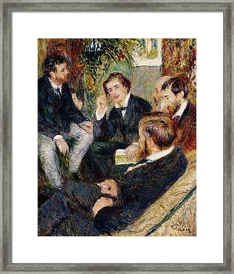 The Artist's Studio Rue Saint Georges Framed Print