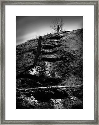 The Ascent Framed Print