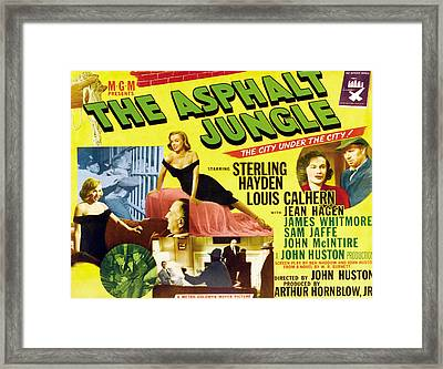 The Asphalt Jungle, From Upper Left Framed Print