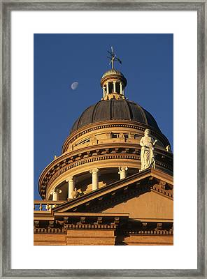 The Auburn, California Courthouse Framed Print by Phil Schermeister