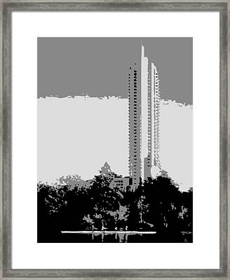 The Austonian Bw3 Framed Print by Scott Kelley