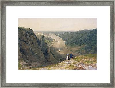 The Avon Gorge - Looking Over Clifton Framed Print