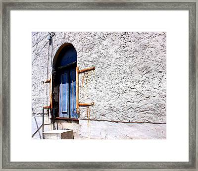 The Back Door Framed Print by Betty Northcutt