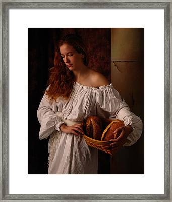 The Bakers Wife Framed Print