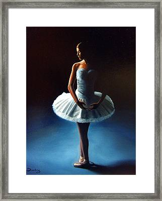 The Ballet Dancer 2 Framed Print by Dimitris Papadakis