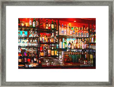 The Bar Framed Print by Wingsdomain Art and Photography