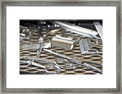The Barber Shop 10 Framed Print