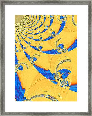 The Bark Of A Thousand Eyes Framed Print by Mary Ann Southern