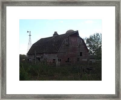 The Barn IIi Framed Print by Bonfire Photography