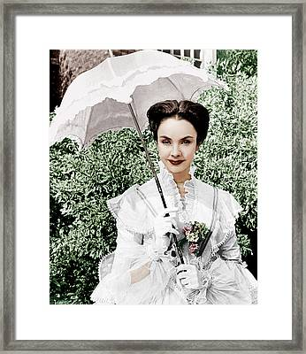 The Barretts Of Wimpole Street Framed Print by Everett