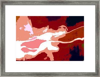 The Baseball Pitcher Framed Print by David Lee Thompson
