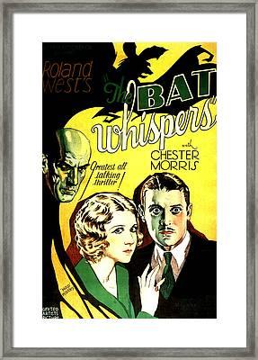 The Bat Whispers, Upper Left Gustav Von Framed Print