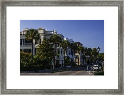 The Battery Charleston Sc Framed Print