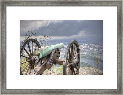 The Battle Framed Print by David Troxel