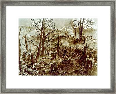 The Battle Of Chattanooga, The Capture Framed Print by Everett