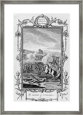 The Battle Of Culloden Framed Print by Granger
