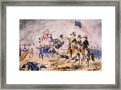 The Battle Of New Orleans, January 8 Framed Print by Everett