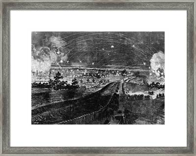 The Battle Of Petersburg, The Last Framed Print by Everett