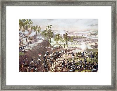 The Battle Of Resaca, May 14-15, 1864 Framed Print by Everett