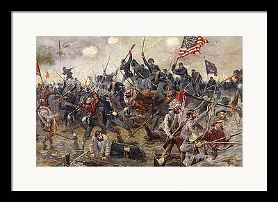 Army Of The Potomac Paintings Framed Prints