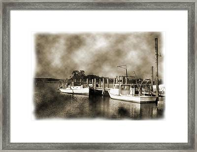The Bayou Framed Print by Barry Jones