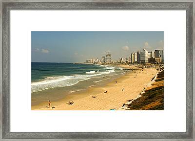 The Beach Framed Print by Amr Miqdadi