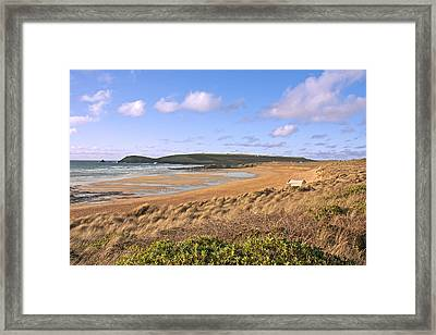 Framed Print featuring the photograph The Beach by Paul Scoullar
