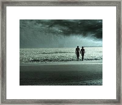 The Beachcombers Framed Print