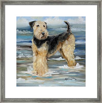 The Beached Dale Framed Print
