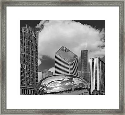 The Bean Chicago Illinois Framed Print