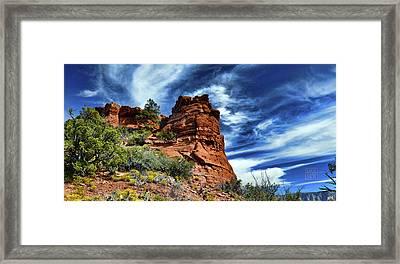 The Beast On Thunder Mountain Trail Framed Print